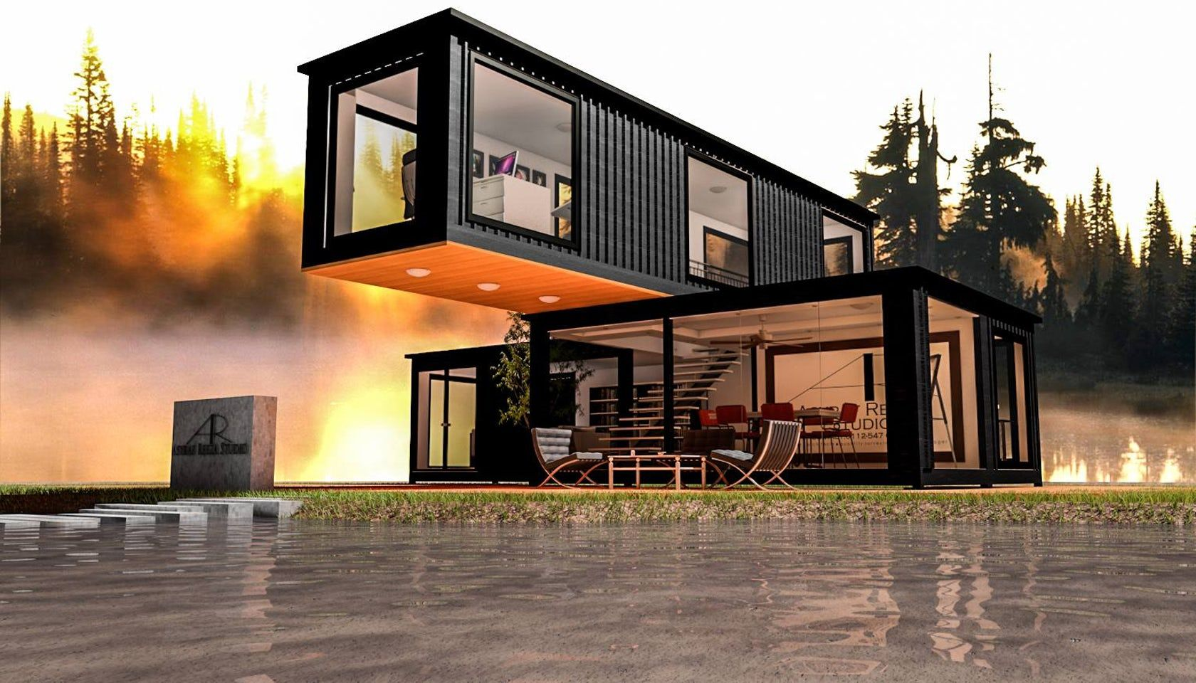 Designing Container Home
